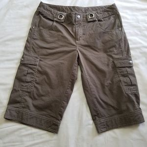 Athleta Kick It Bermuda Cargo Hiking Shorts